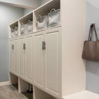 Mudroom and laundry room ideas   Renovation Design Group