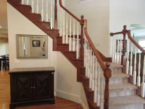 Before Staircase remodel | Renovation Design Group