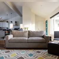 Mid Century Modern Home Style Great room and living Room ideas