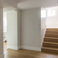 Split level stairs, new staircase, basement