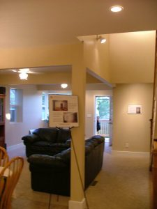 Basement Duplex Remodel Living Room | Renovation Design Group
