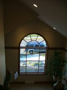 Duplex Renovations Large Window Living Room   Renovation Design Group