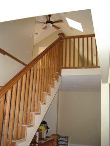 Stair Case Renovation Attic Addition | Renovation Design Group