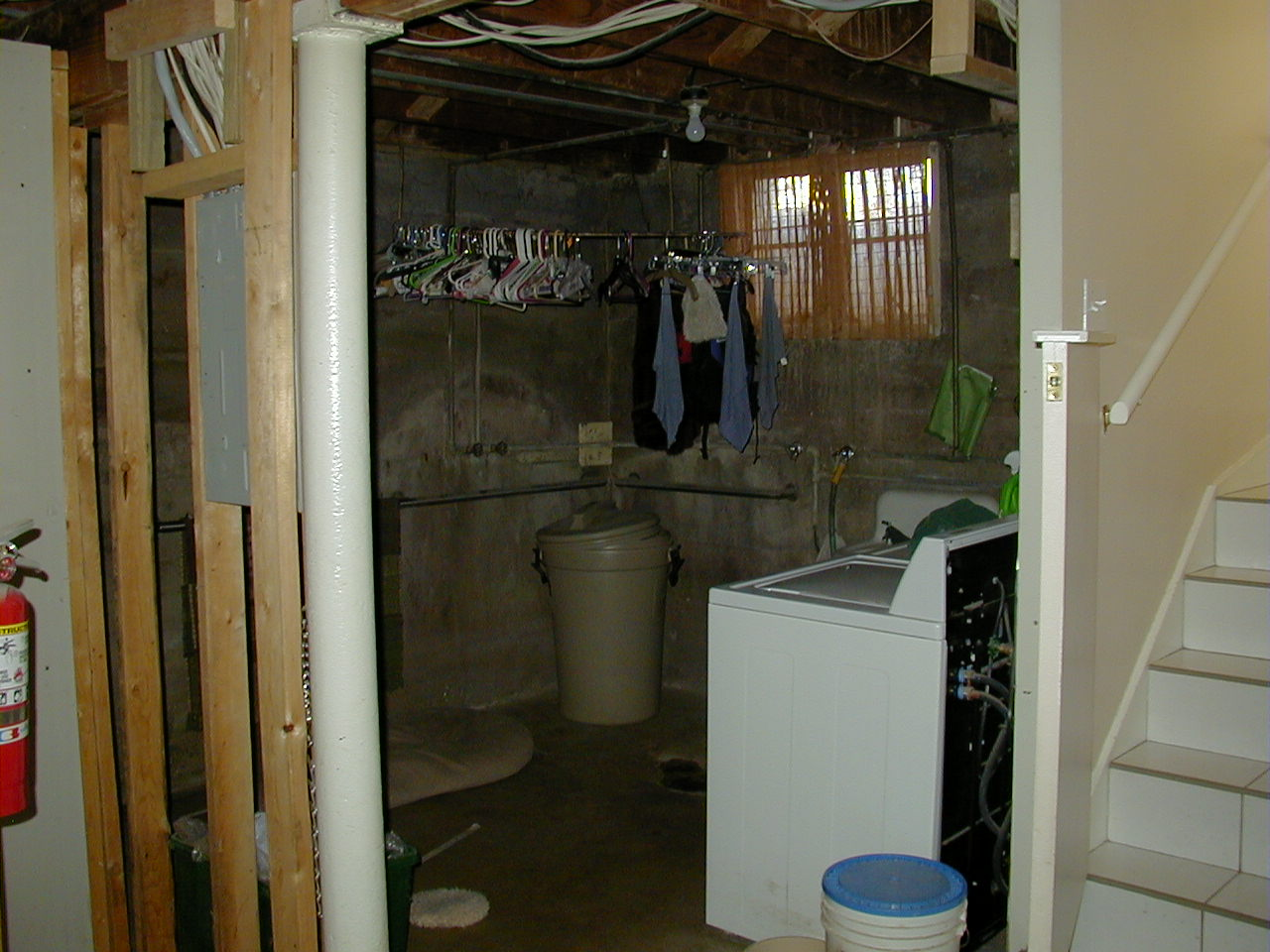 Before Mudroom Custom Dog Shower | Renovation Design Group