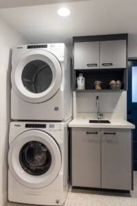 Compact laundry room