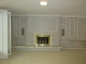 Before living room renovation