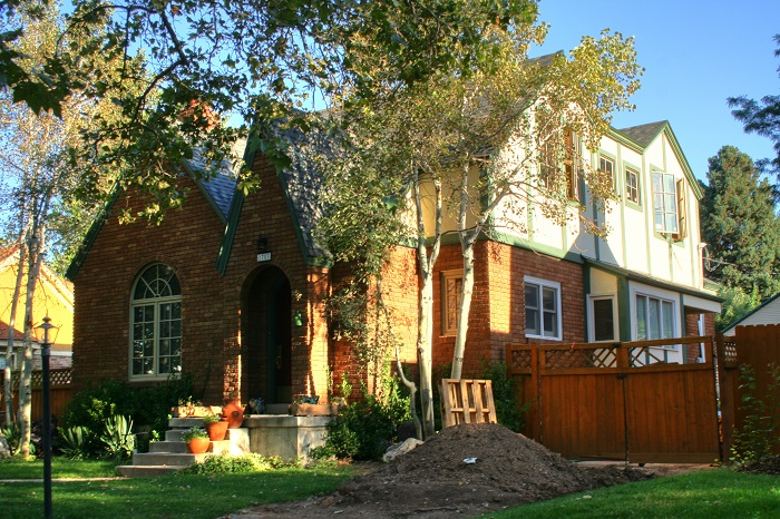 After Tudor Exterior Addition | Renovation Design Group