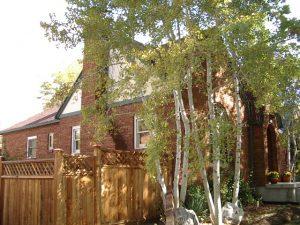 before Tudor Exterior Addition | Renovation Design Group