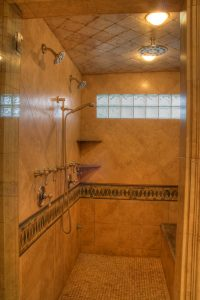 Tuscan Stand Up shower | Renovation Design Group