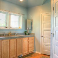 Bathroom with natural light soft colors | Renovation Design Group