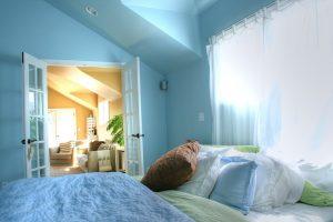 French Doors Bedroom | Renovation Design Group