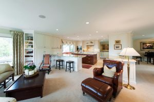 Interior Kitchen great Room dining room structural walls | Renovation Design Group