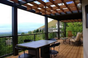 Second Story Deck with pergola |Renovation Design group