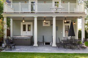 After Exterior BAck Patio Victorian | Renovation Design Group