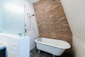 After Bathroom remodel historic home remodel Victorian | Renovation Design Group