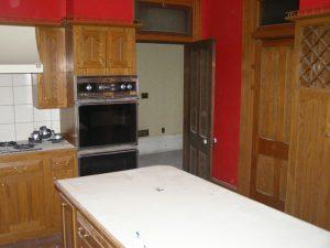 Before Kitchen remodel historic home remodel Victorian | Renovation Design Group