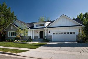 After Exterior Home Remodel Modern Traditional Design Curb Appeal | Renovation Design Group