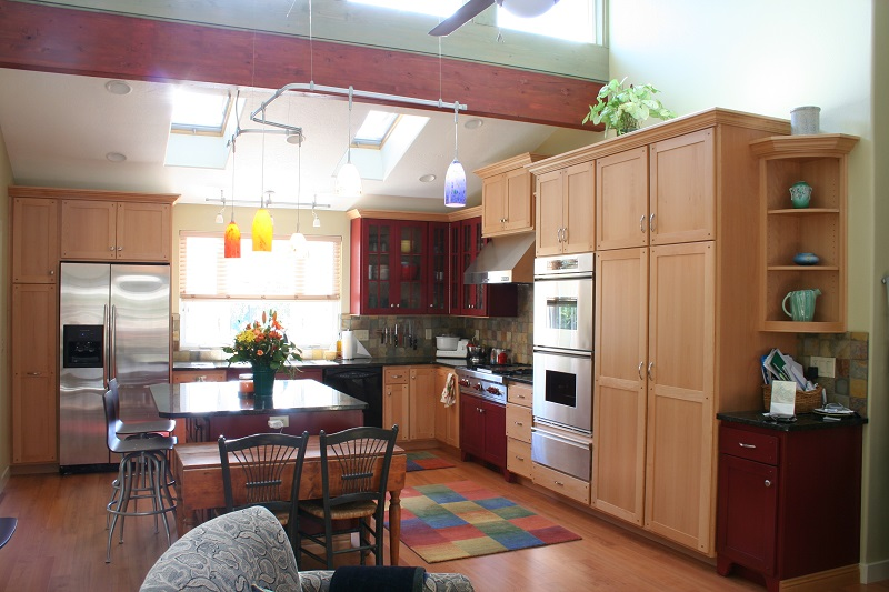 Colorful Kitchen Modern Colorful Kitchen remodel Modern Kitchen Remodel | Renovation Design Group