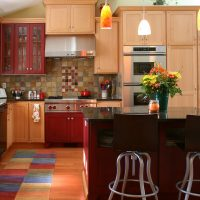 Modern Colorful Kitchen remodel Modern Kitchen Remodel | Renovation Design Group