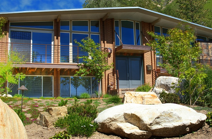 1970's Exterior Update After_Exterior_front Exterior_1970's Update Contemporary | Renovation Design Group
