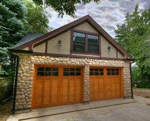 Tudor Garage Exterior New Construction |Renovation Design Group