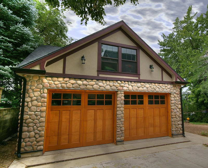 Tudor Garage Exterior New Construction |Renovation Design Group