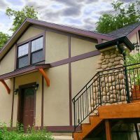 After_Renovating a Tudor Style Home_Garage_Renovation Design Group