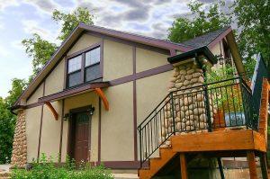 After_Renovating a Tudor Style Home_Garage_Renovation Design Group