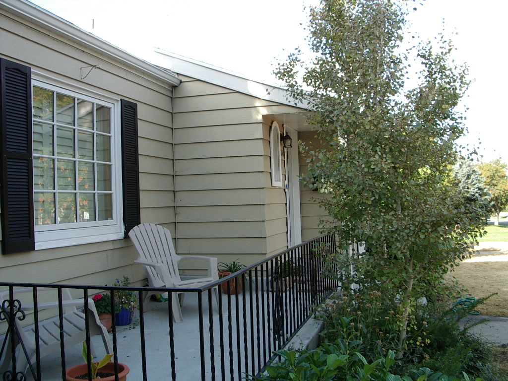 Before Exterior Renovation Porch   Renovation Design Group