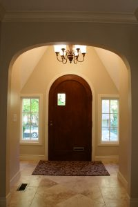 Tudor Home Entry Way from the Interior | Renovation Design Group