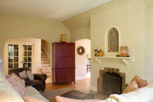 Tudor Home Living Room | Renovation Design Group