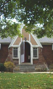 Before Front Porch Tudor | Renovation Design Group