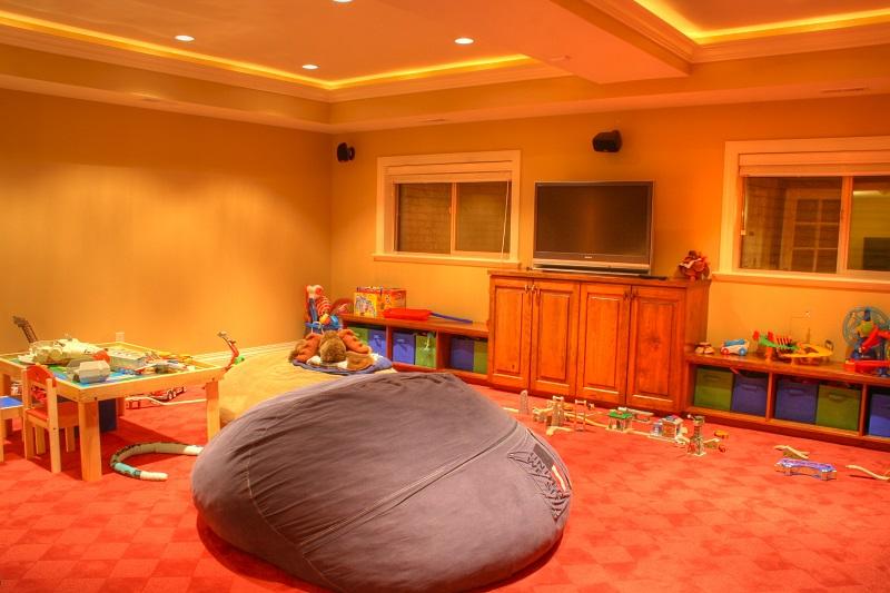 After Playroom Remodel Basement Playroom | Renovation Design Group
