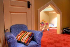 Playroom Basement Kids rooms | Renovation Design Group