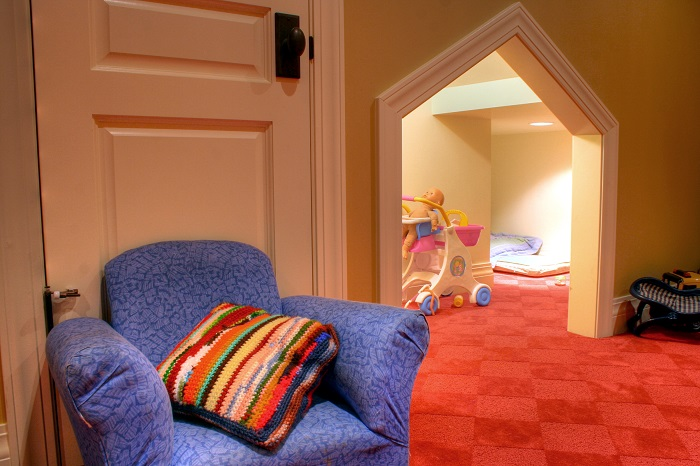Playroom Basement Kids rooms | Renovation Design Group