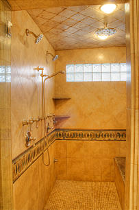 Go for luxury in shower