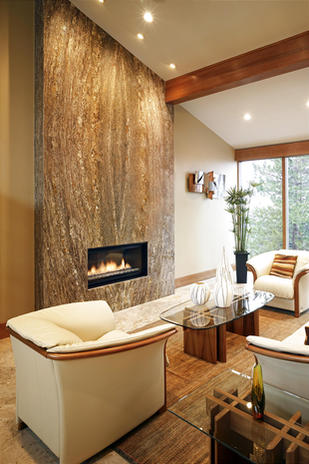 Fireplaces add warmth and ambiance