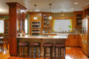 Open Deisgn, Kitchen Design Reignites Owner's Love of Cooking