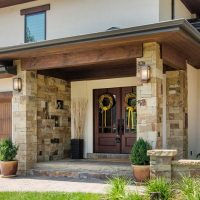 after Split Level Home Remodel Exterior | Renovation Design Group