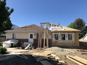 Pella, Framewor, Roof framin, in construction