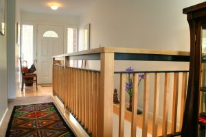 second story addition modern stairs | Renovation Design Group