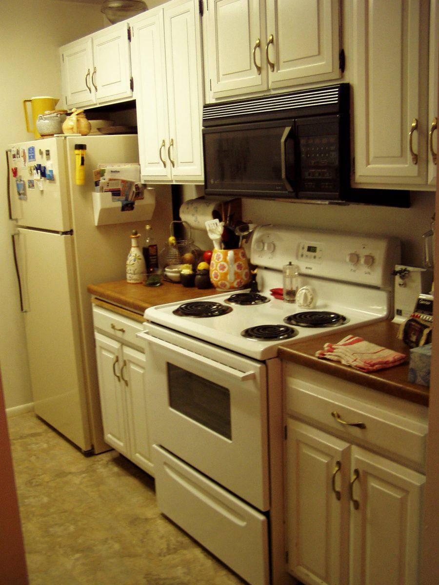 Before Modern Kitchen Renovation | Renovation Design Group