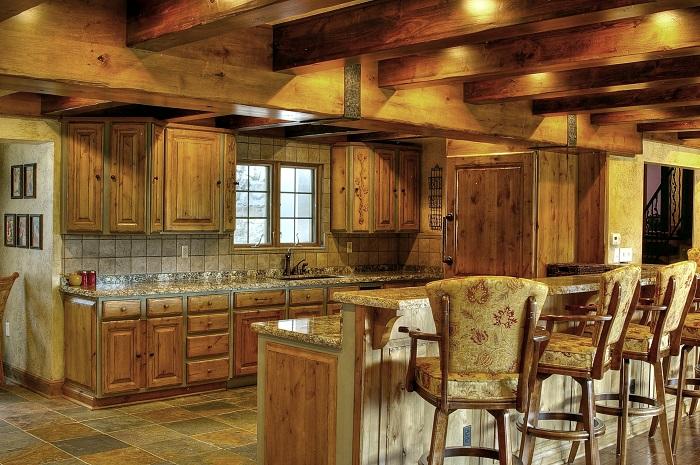 Tuscan Design Great Room Kitchen | Renovation Design Group