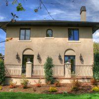 Italiante Designed Rear Porch Italiante Designed Home Exterior | Renovation Design Group