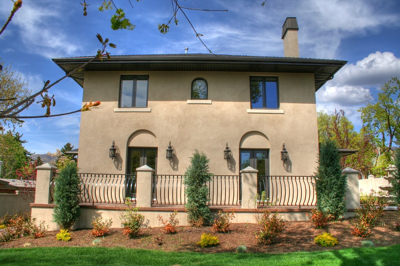 Italiante Designed Rear Porch Italiante Designed Home Exterior | Renovation Design Group