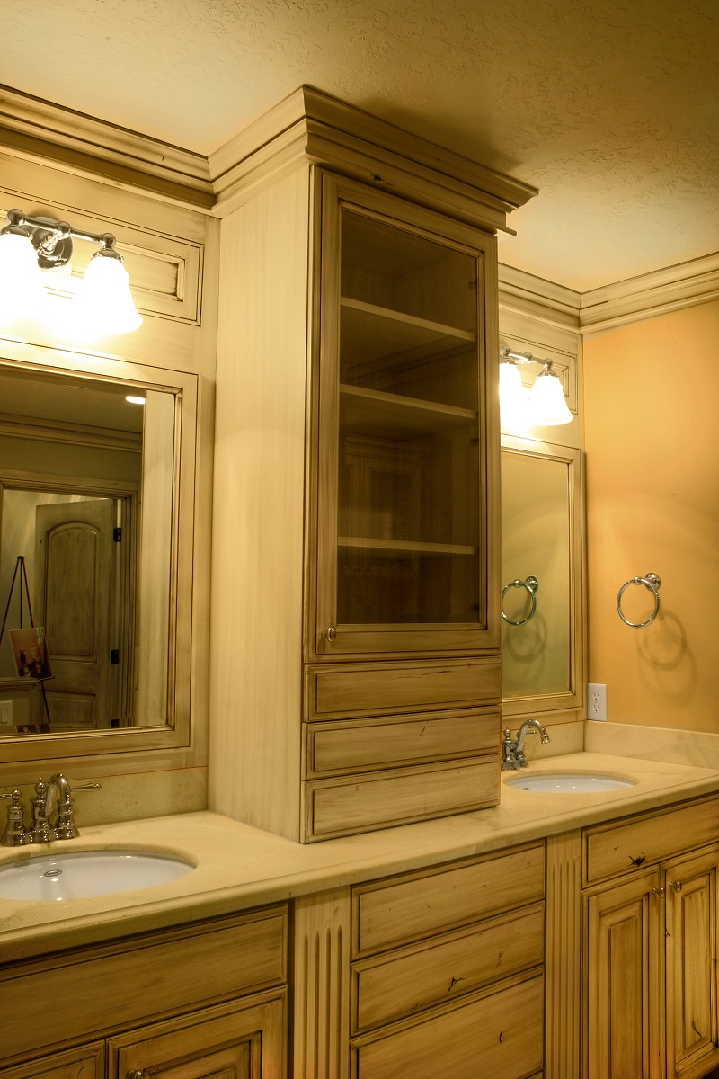Master Bath double vanity | Renovation Design Group