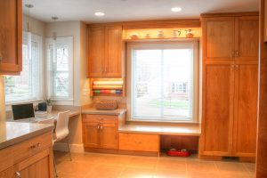 Laundry, Mudroom, & Home Office Contemporary Kitchen Remodel | Renovation Design Group