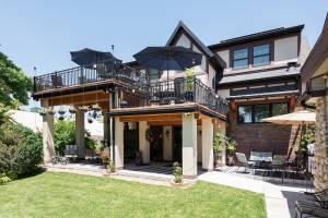 Exterior Tudor Addition Project Back Patio | Renovation Design Group