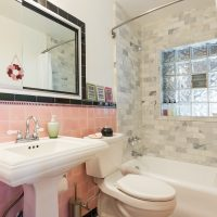 After, Historic restoration, Tudor home, bathroom, original tile | Renovation Design Group
