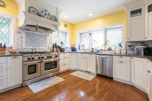 After, Kitchen, Yellow walls, Historic Home, Tudors, Home restoration | Renovation Design Group
